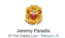 The Crabby Lion - Conimicut Village Online Business